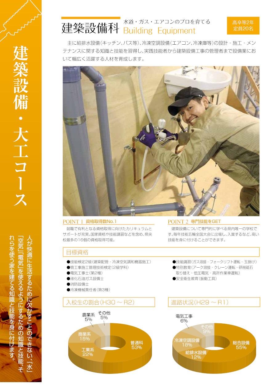 建築設備科